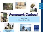 Framework Contract