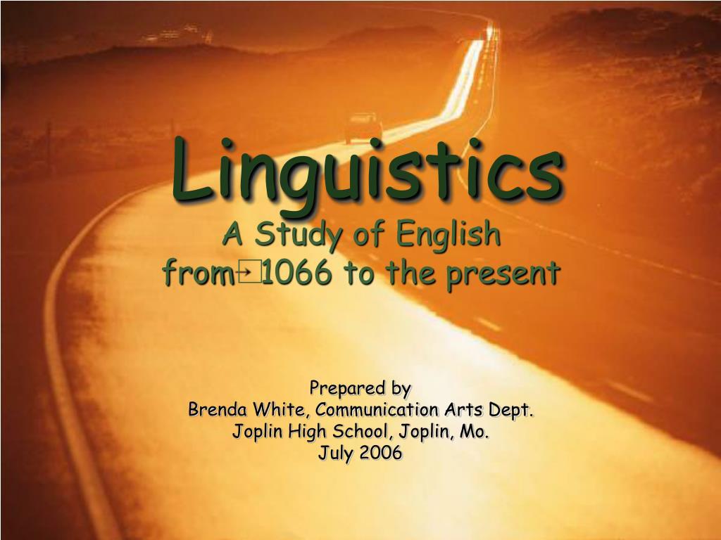 linguistics l.