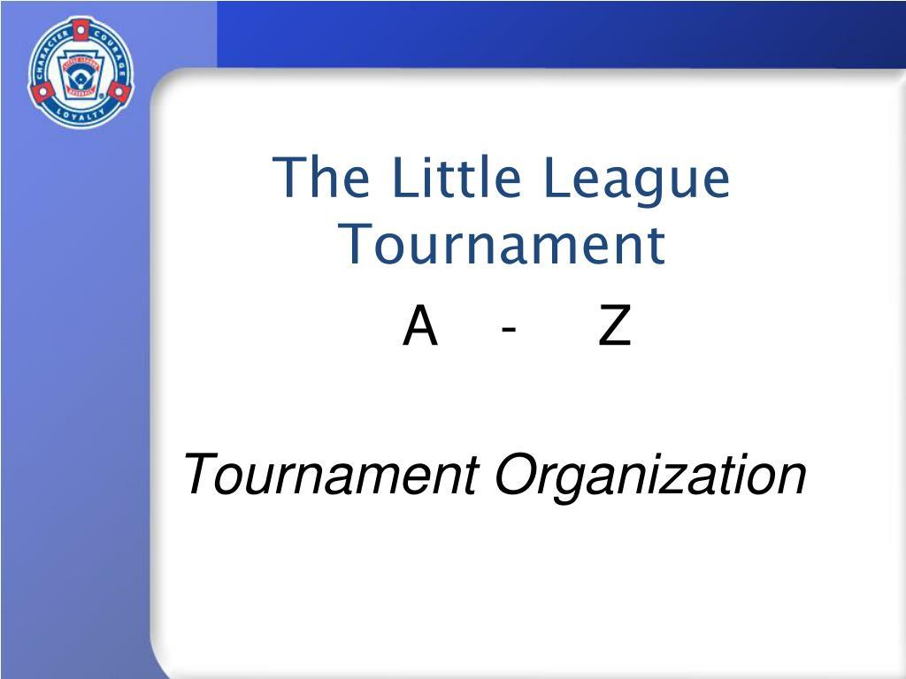 tournament organization l.