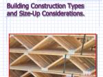 Building Construction Types and Size-Up Considerations.