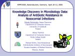 Knowledge Discovery in Microbiology Data: Analysis of Antibiotic Resistance in Nosocomial Infections