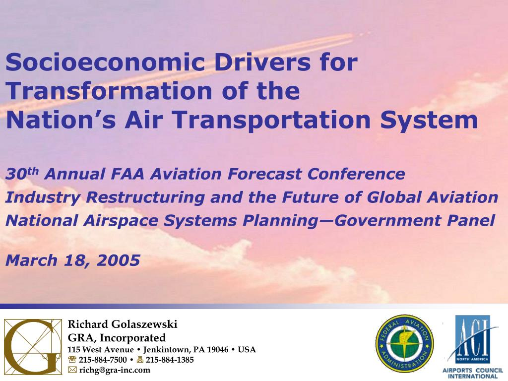 PPT - Socioeconomic Drivers for Transformation of the