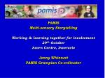 PAMIS  Multi-sensory Storytelling Working & learning together for involvement  29 th  October Acorn Centre, Inveruri
