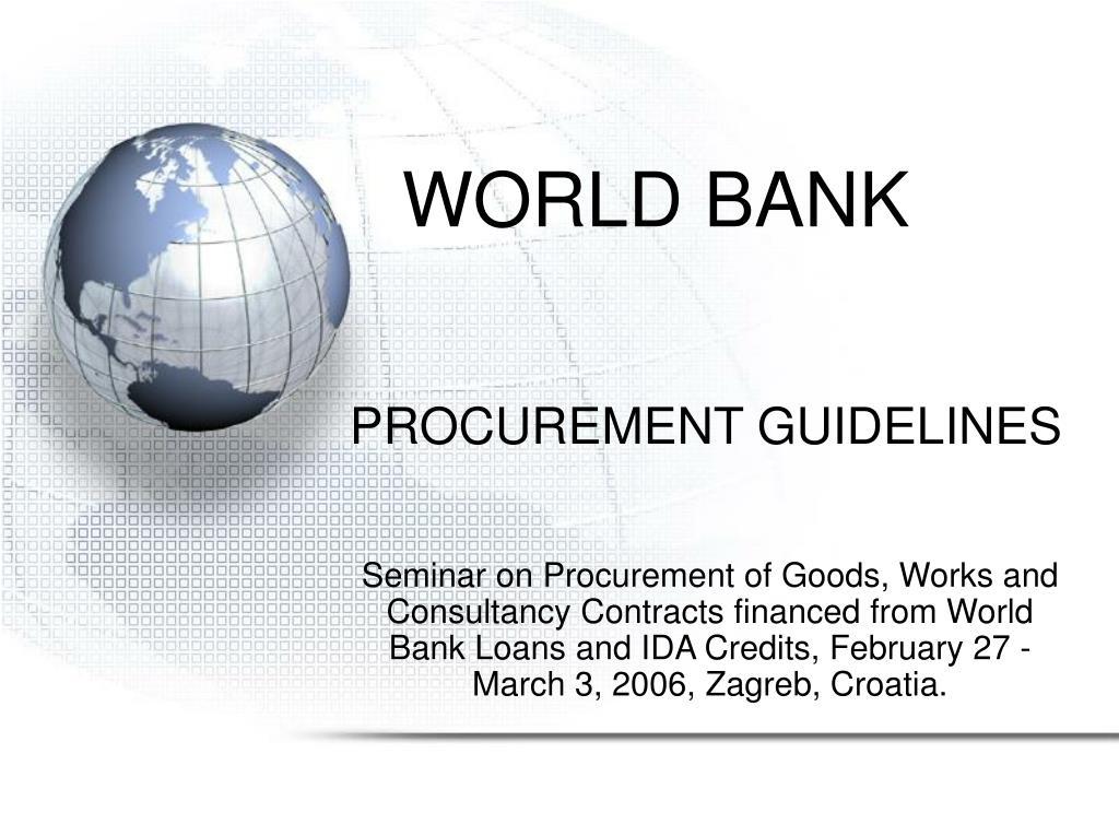 world bank l.