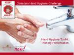 Hand Hygiene Toolkit Training Presentation