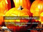 Halloween y su trasfondo