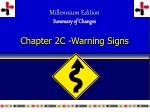 Chapter 2C -Warning Signs