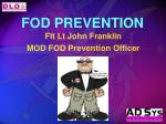FOD PREVENTION