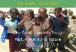 The Zambia Society Trust