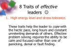8 Traits of effective leaders 