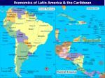 Economics of Latin America & the Caribbean