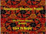 Tessellation Simulation Project