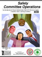 Safety Committee Operations