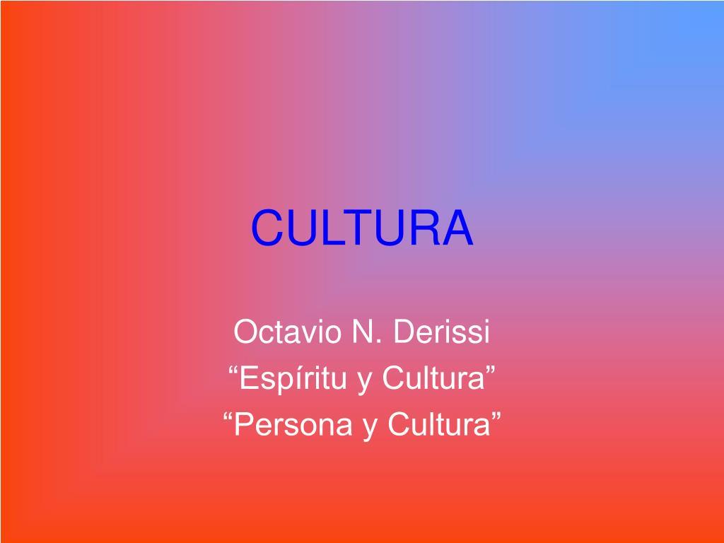 cultura l.