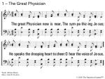 1 – The Great Physician