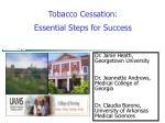 Tobacco Cessation: Essential Steps for Success