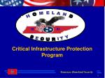 Critical Infrastructure Protection Program