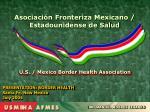 PRESENTATION: BORDER HEALTH Santa Fe, New Mexico July 2004