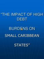 """""""THE IMPACT OF HIGH DEBT  BURDENS ON"""