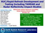 NOAA Earth System Research Lab (ESRL) Global Systems Division (GSD) Boulder, CO