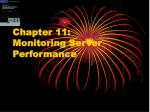 Chapter 11: Monitoring Server Performance