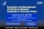 Evaluation and Management of Infectious Disease Outbreaks in Nursing Homes