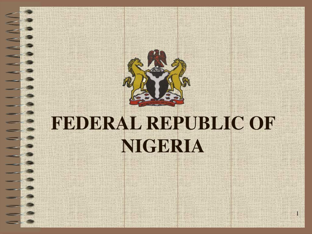 federal republic of nigeria l.