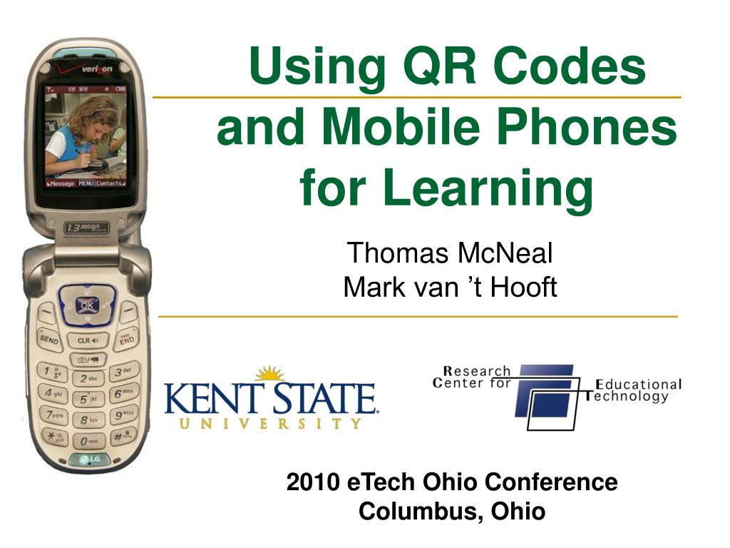 using qr codes and mobile phones for learning l.