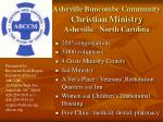 Asheville Buncombe Community  Christian Ministry Asheville   North Carolina