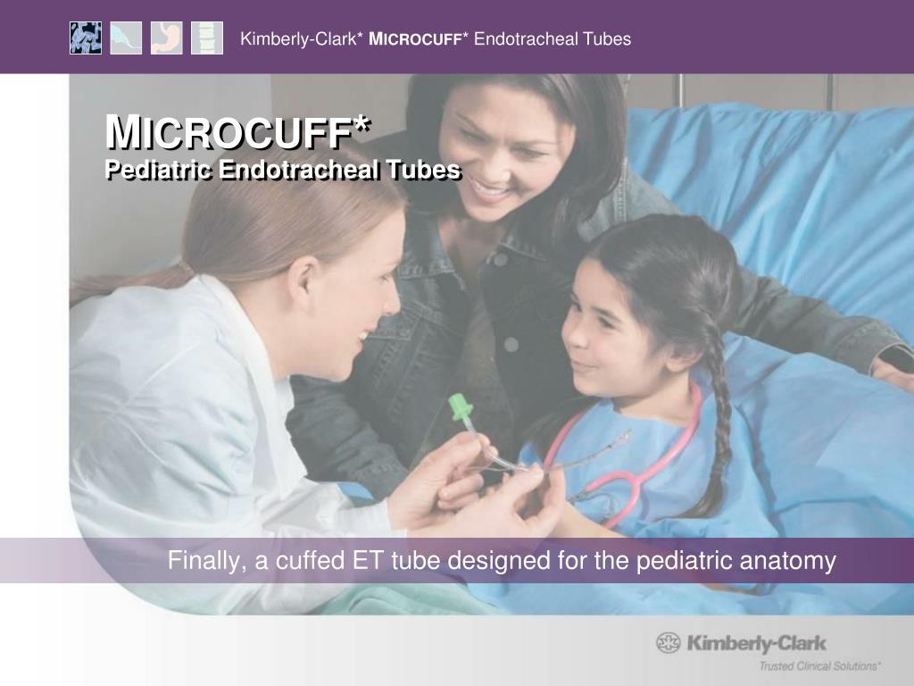 m icrocuff pediatric endotracheal tubes l.