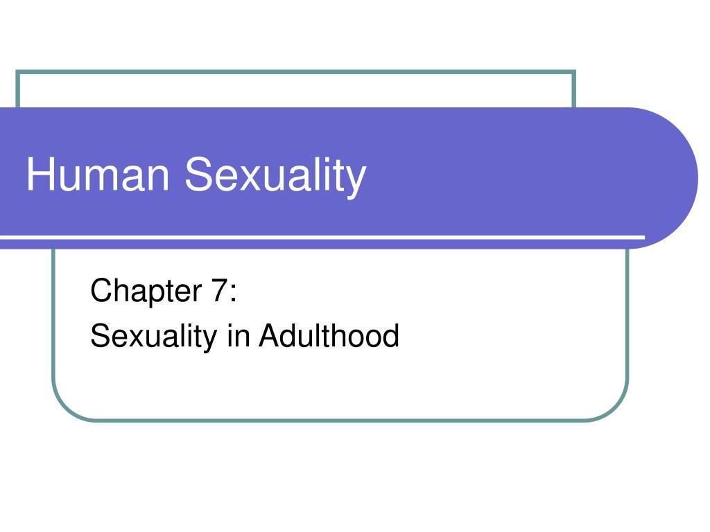 human sexuality l.