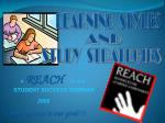 A REACH on-line STUDENT SUCCESS SEMINAR 2009 ( Your success is our goal ! )