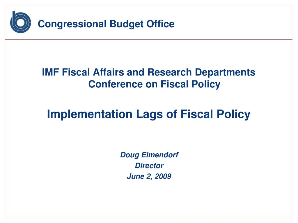 congressional budget office l.