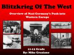 Blitzkrieg Of The West