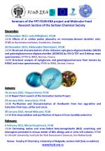 Seminars of the FP7 FCUB - ERA project and Molecular Food Research Section of the Serbian Chemical Society