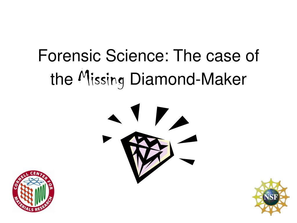 NO KNOWLEDGE OF MISSING DIAMONDS