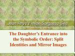 Jean Rhys's Wide Sargasso Sea
