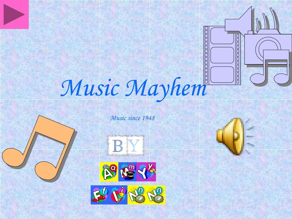 music mayhem music since 1948 l.