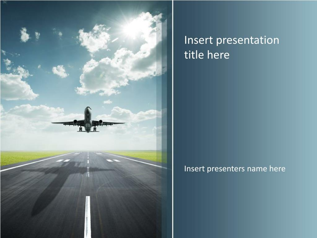 55 Awesome Free Powerpoint Templates Aviation Summer Background