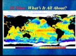 El Nino: What's It All About?
