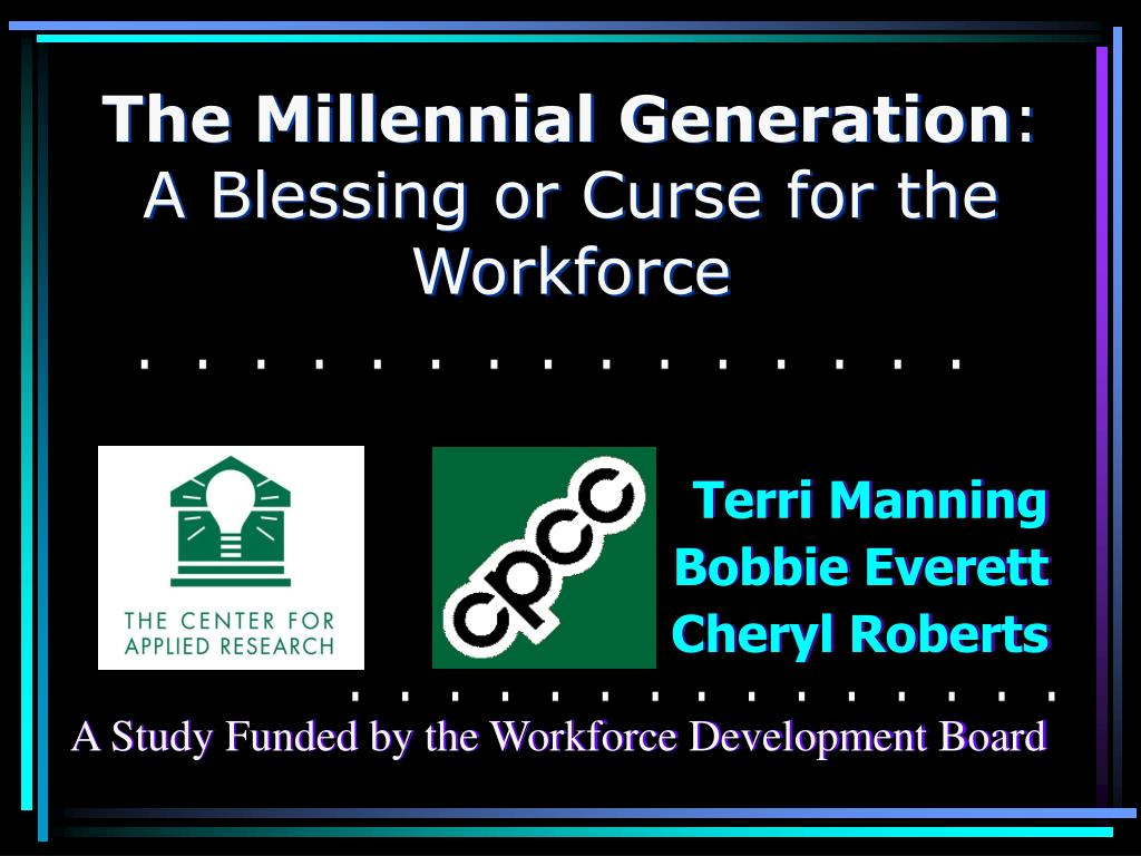 the millennial generation a blessing or curse for the workforce l.