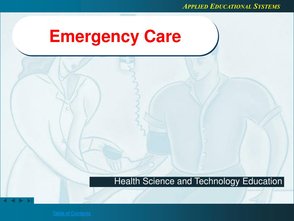 emergency care l.