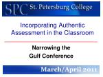 Incorporating Authentic Assessment in the Classroom