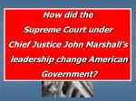The United States Supreme Court Article 3 of the US Constitution