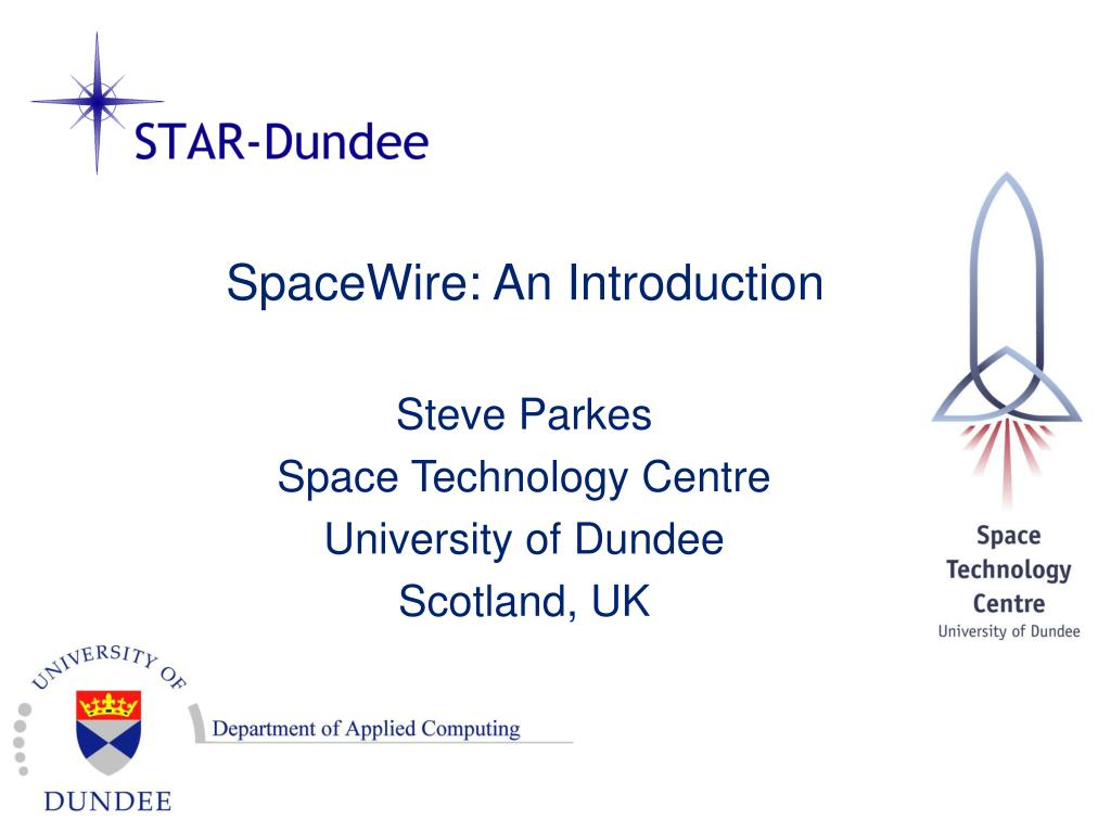 spacewire an introduction l.
