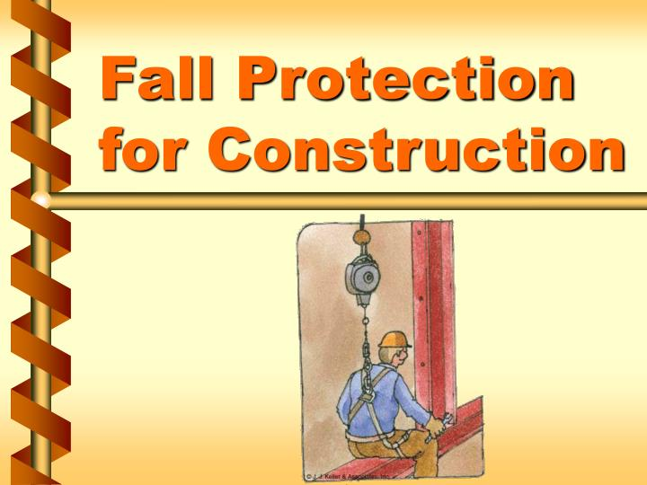 fall protection for construction n.