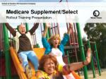 Medicare Supplement/Select