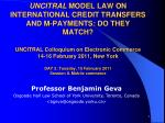 Professor Benjamin Geva Osgoode Hall Law School of York University, Toronto, Canada <bgeva@osgoode.yorku>
