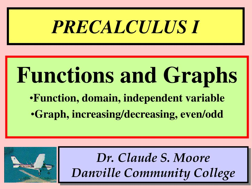 PPT - PRECALCULUS I PowerPoint Presentation - ID:476305