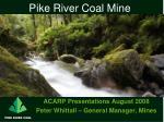 Pike River Coal Mine